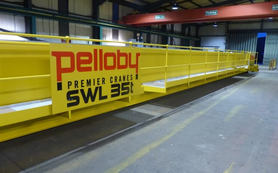 35 Tonne Crane Pelloby Logo
