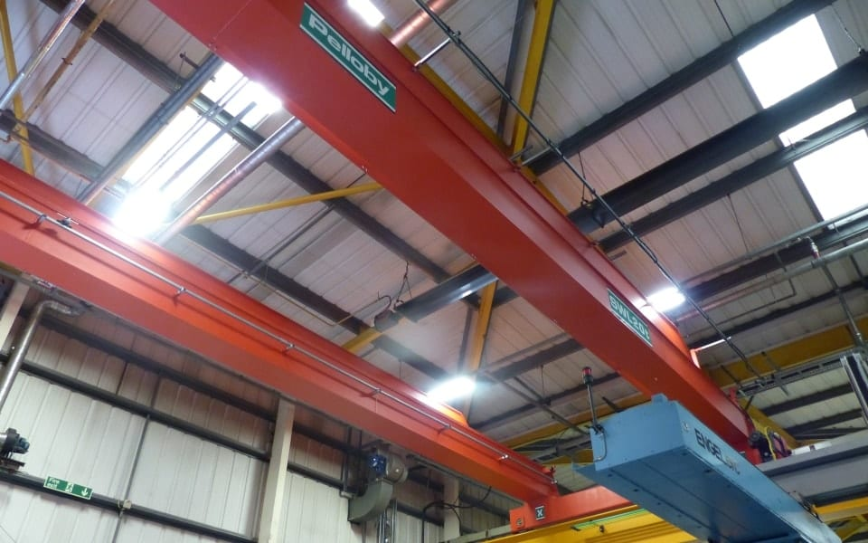 Pelloby double girder 20 tonne crane