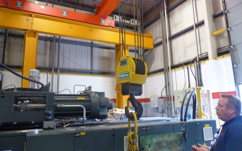 Pelloby twenty tonne crane hook