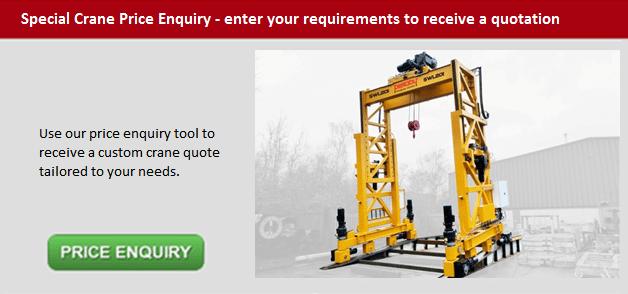 Special Crane Price Enquiry Button