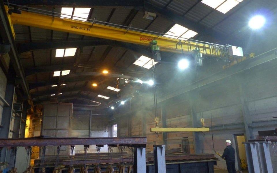Stoke Galvanisers - Four Tonne Overhead Crane