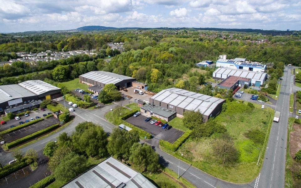 Pelloby Ltd Telford Aerial