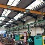 Overhead Crane Gantry Extension at M&H Plastics