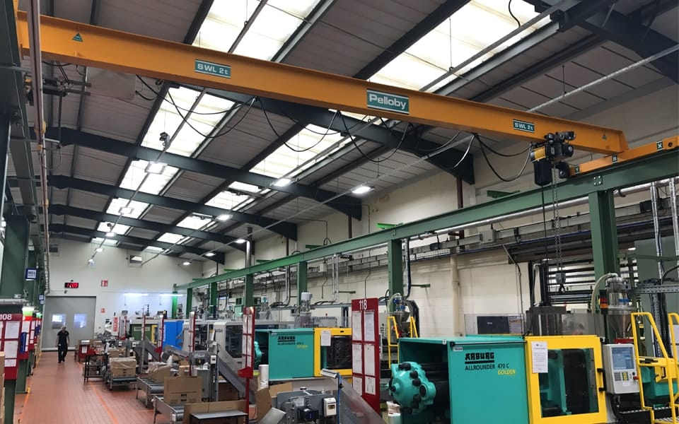 2 Tonne Single Girder Overhead Crane