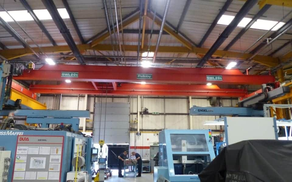 20 Tonne Overhead Crane Double Girder Crane