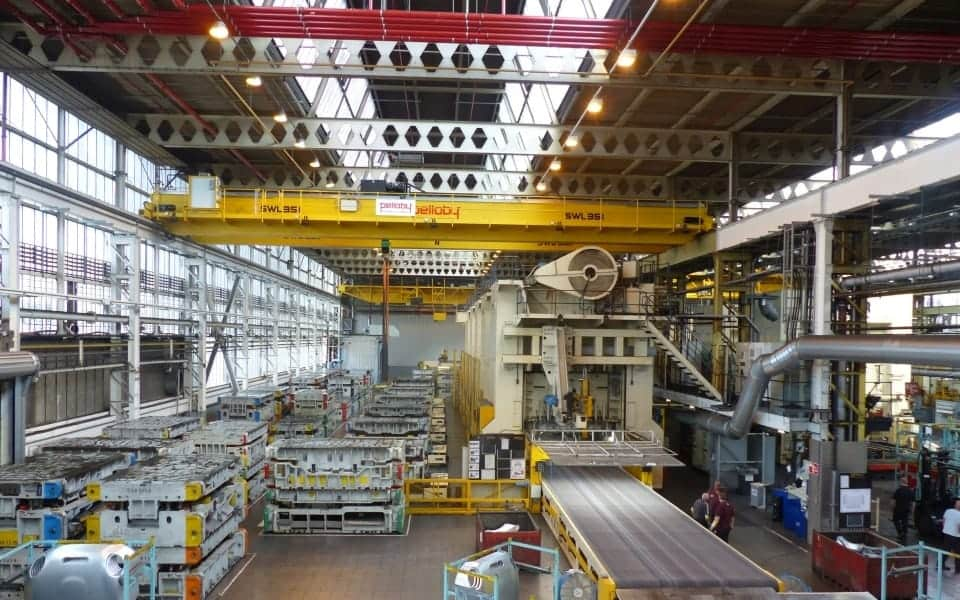 35 Tonne Pelloby Overhead Crane at BMW