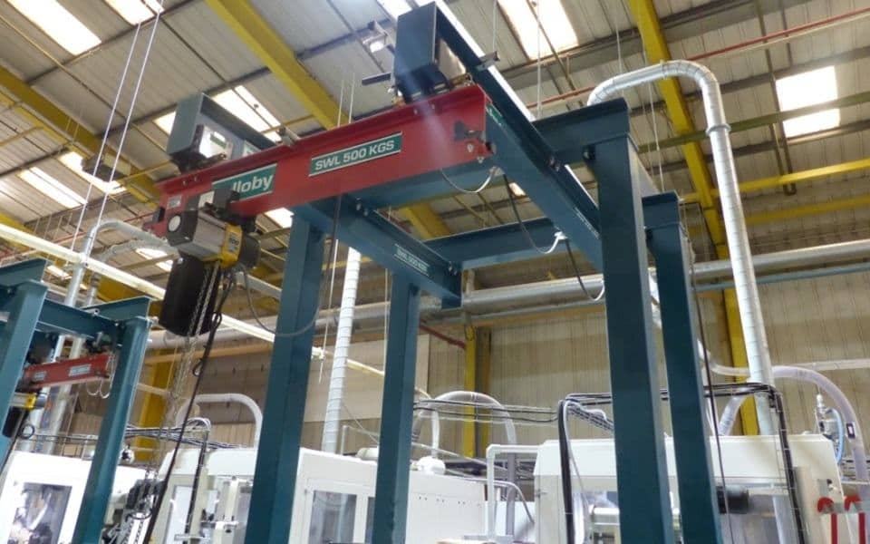 Freestanding Underslung Crane