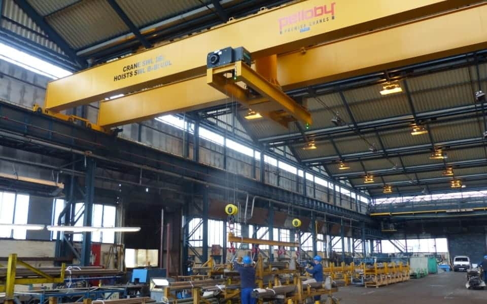 Double Girder Overhead Cranes Any Height Span Amp Safe