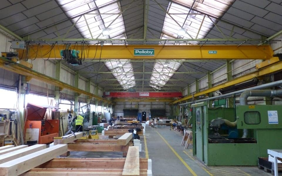 Pelloby Single Girder Crane