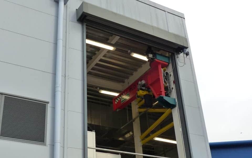 Pelloby Wall Jib Crane - Outdoor Application