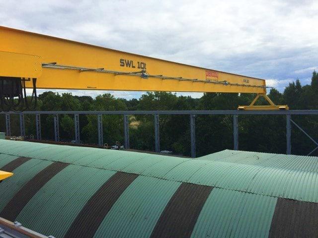 Ten Tonne EOT Crane