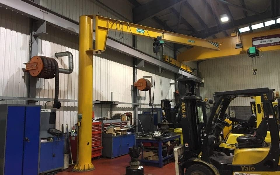 Overhead Crane Parts Uk : Post jib cranes find a uk manufactured crane