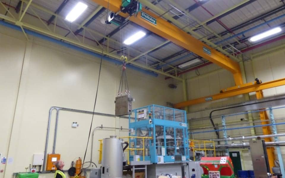 Widepsan Single Girder Crane Ricoh