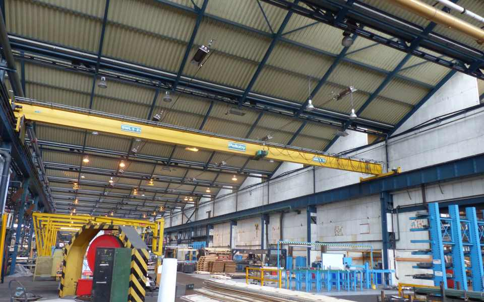 Overhead Crane Parts Uk : Single girder overhead cranes uk made