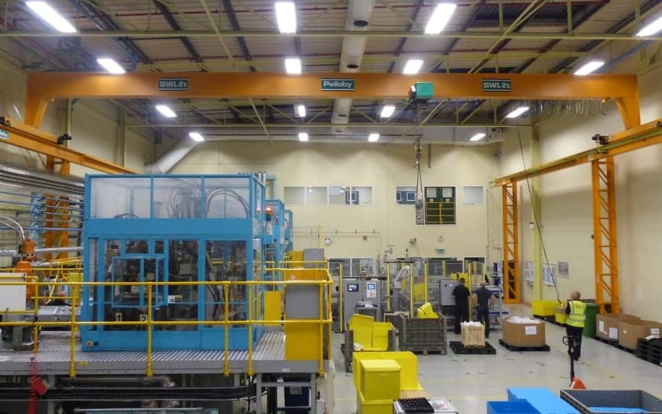 Widespan Two Tonne Overhead Crane