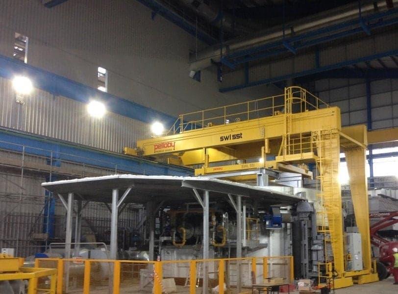 55 Tonne Semi-Gantry Crane