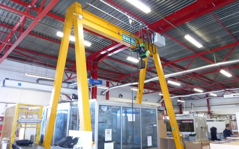 A-Frame Gantry Cranes