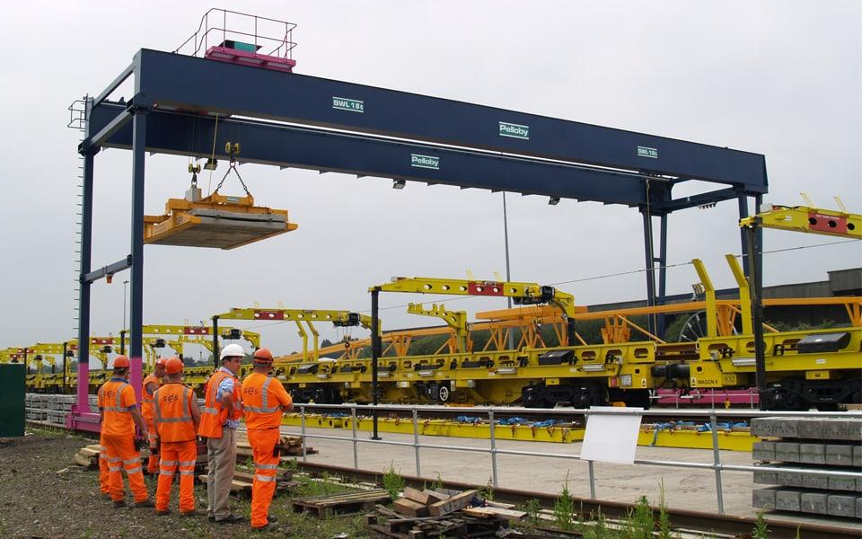 Overhead Crane Parts Uk : Gantry cranes find a crane designed