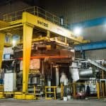 Special 55 Tonne Semi-Portal Crane for Bridgnorth Aluminium