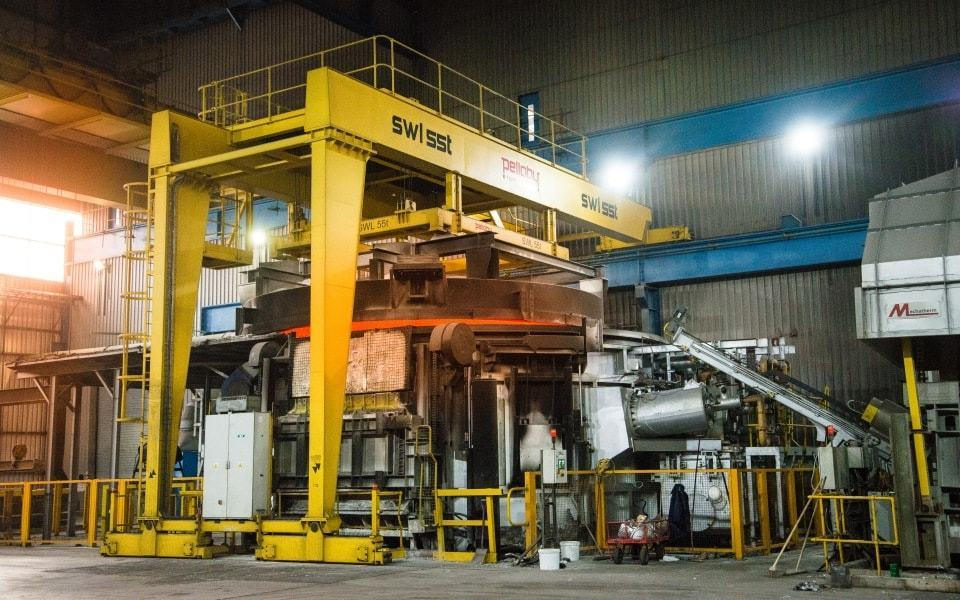 Heavy Duty Semi-Gantry Crane