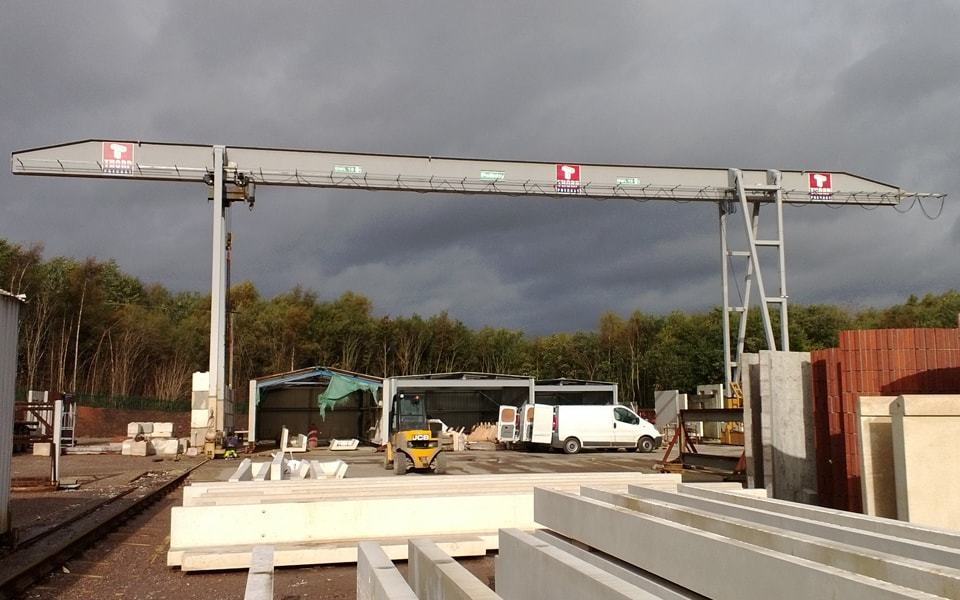 Outdoor Gantry Cranes