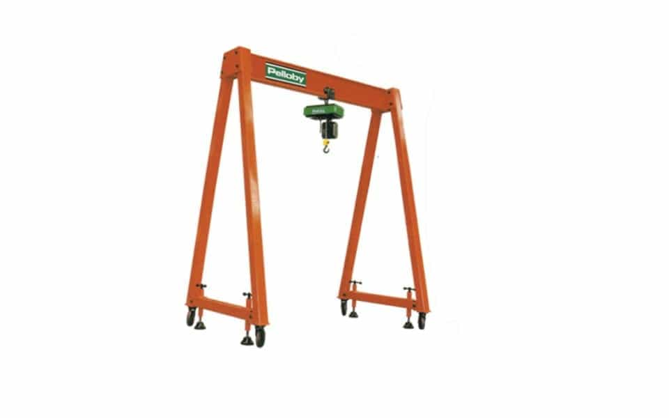 Portable Gantry Cranes Uk Manufactured Lifting Systems