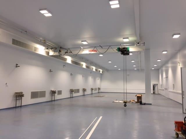 Underslung Cleanroom Crane