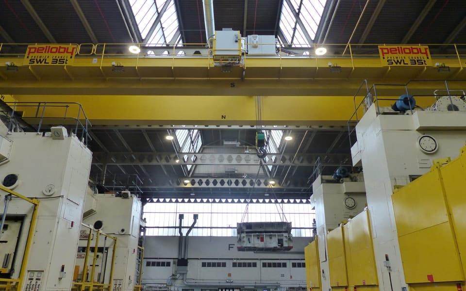 35 Tonne Overhead Crane Lifting Goods