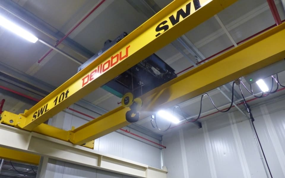 Double Girder Crane With Crab Unit