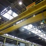 Two 35 Tonne Double Girder Cranes for Major Automotive Press Shop