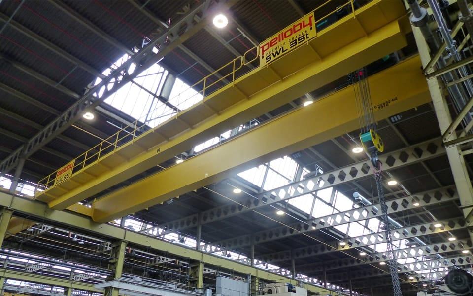 Uk Automotive Press Shop Benefits From Two 35 Tonne Double