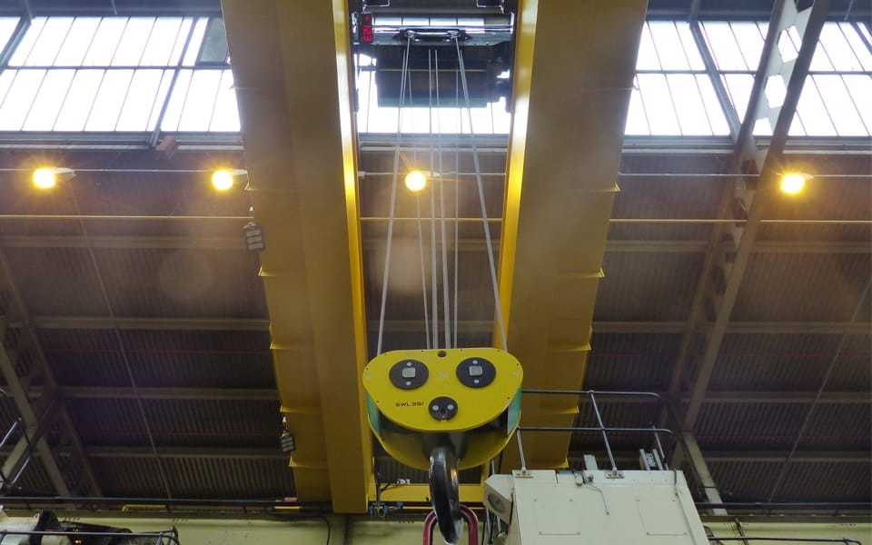 Overhead Crane Crab Unit With Digital Load Display