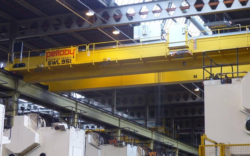 Overhead Crane With Walkway