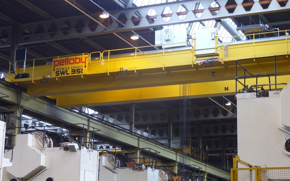 Overhead Crane With Walkway