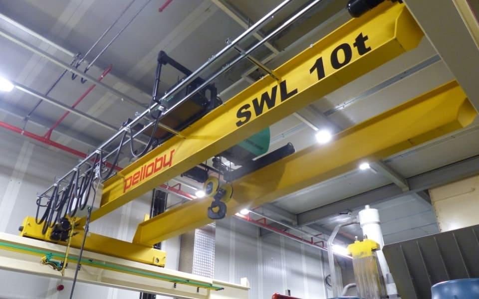 Overhead Crane for Automotive Industry