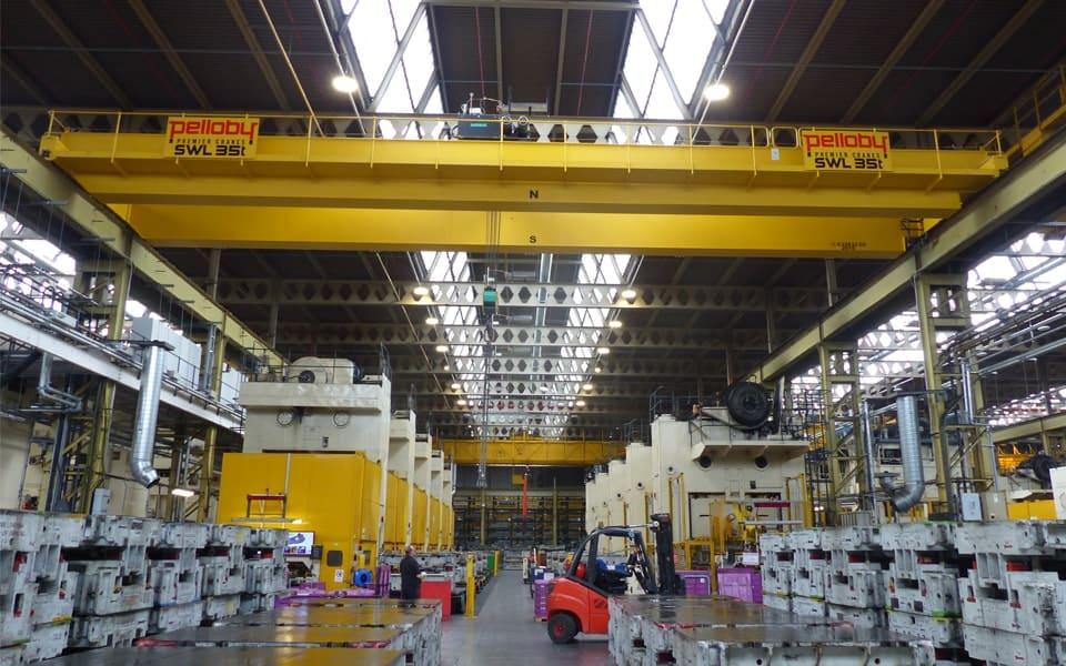 Pelloby Double Girder Overhead Cranes