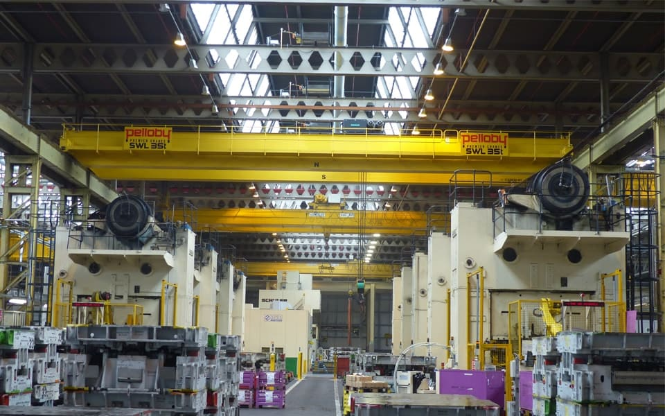 Travelling Cranes Overhead Travelling Cranes From Pelloby