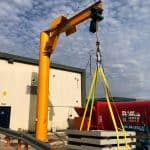 Outdoor Five Tonne Jib Crane for Offsite Solutions