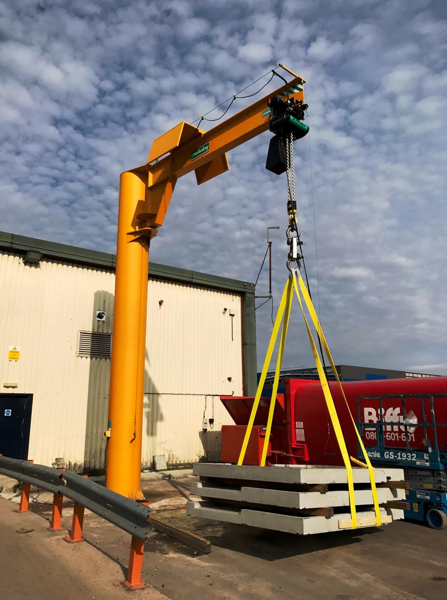 Five Tonne Jib Crane Load Test