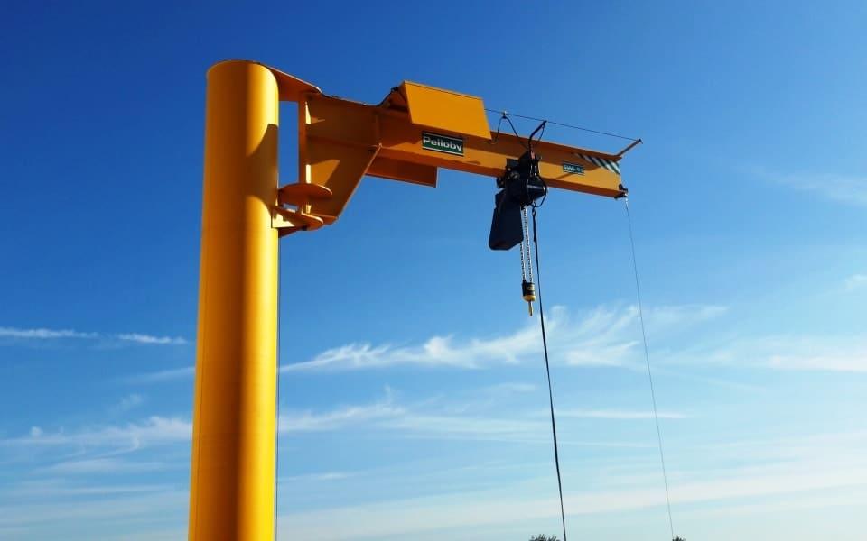 Five Tonne Post Jib Crane