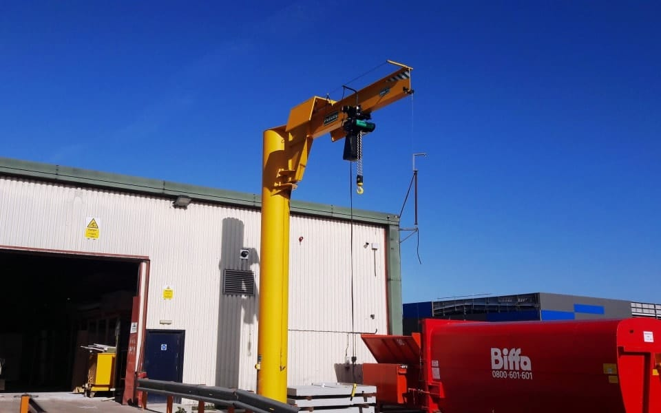 Tall Post Jib Crane