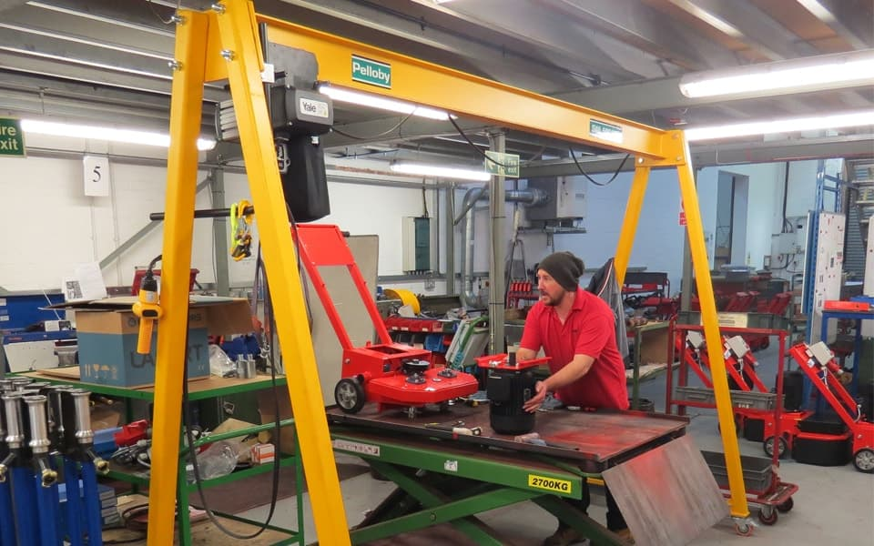 500kg A-Frame Gantry Crane