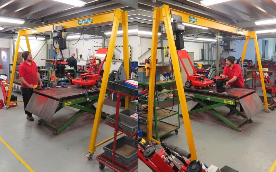 500kg Mobile Gantry Crane