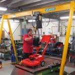 Trelawny Order 500kg Mobile Portal Crane
