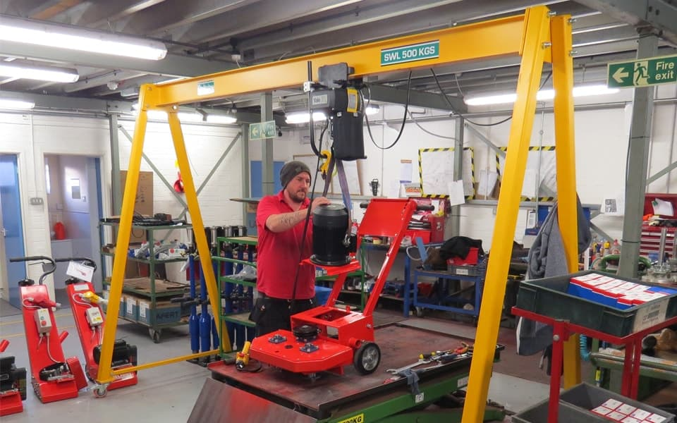 Pelloby 500kg A-Frame Gantry Crane