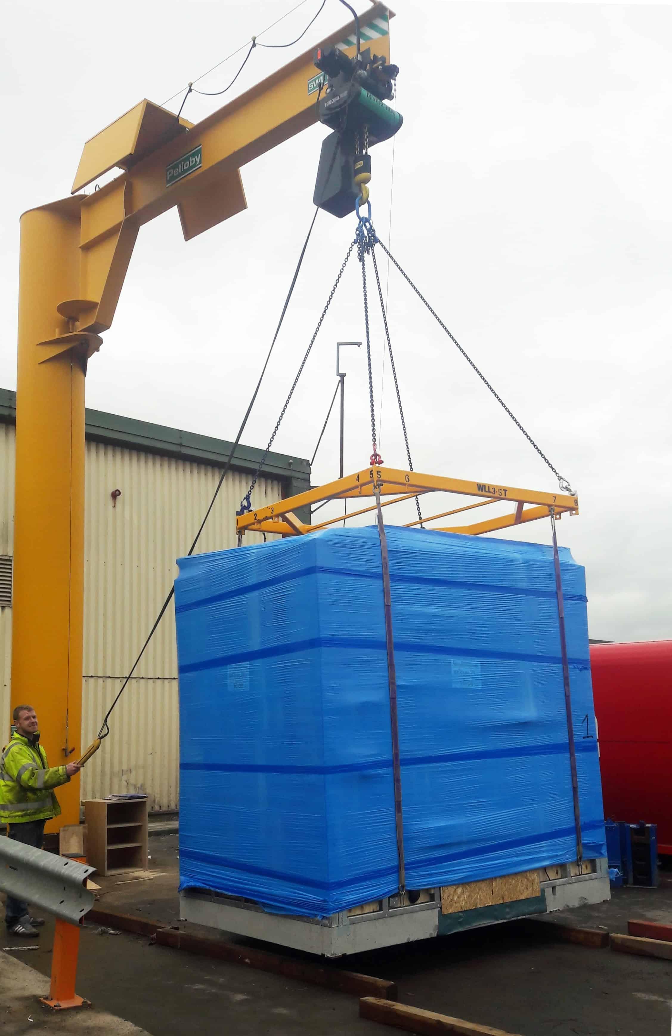 Five Tonne Jib Crane Lifting Pod