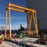 Travelling Portal Crane for National Power Systems Company