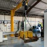 Two Jib Cranes for Hampshire Customer